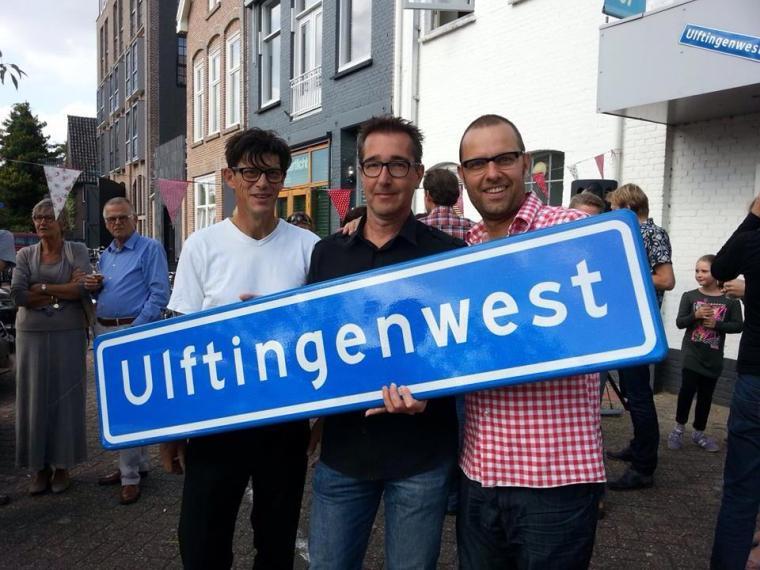 Links Luc de Graaf, rechts Rob Koops.