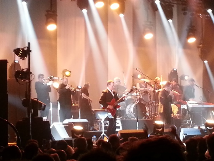De Specials in Utrecht, op 27 november 2014.